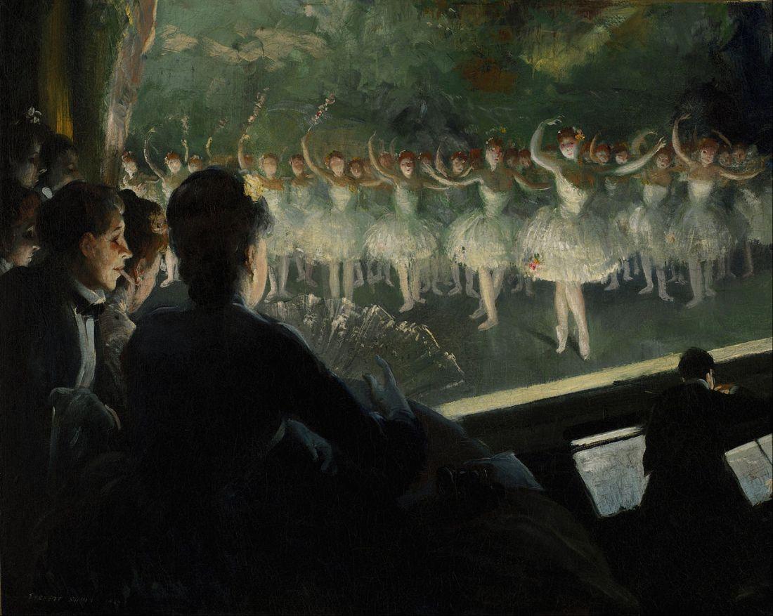 """""""The White Ballet."""" 1904."""