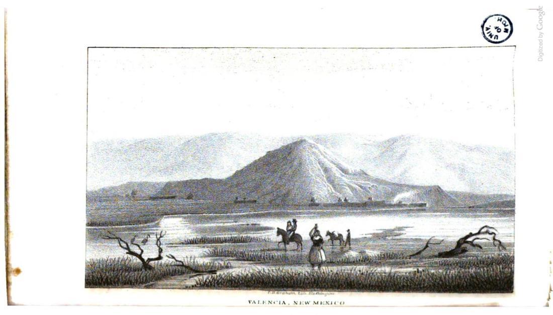 """""""Valencia, New Mexico."""" 1848."""