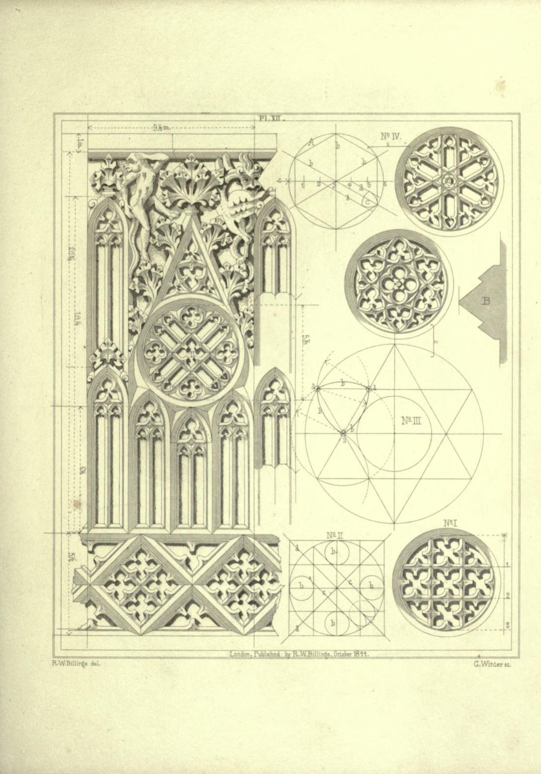 Plate XII. Figures I-IV.