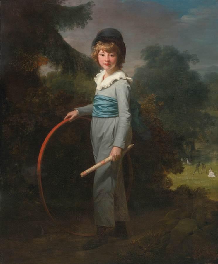 Portrait of Henry John Lambert. 1800.