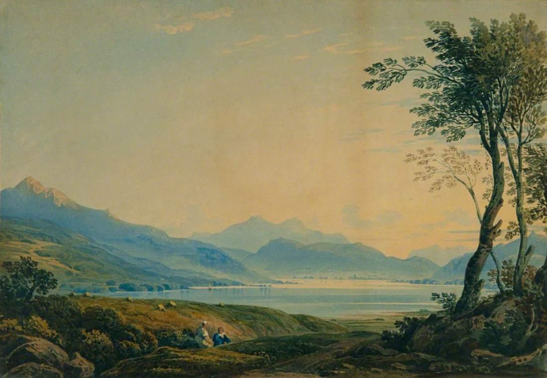"""""""Cader Idris, North Wales."""" 1822."""