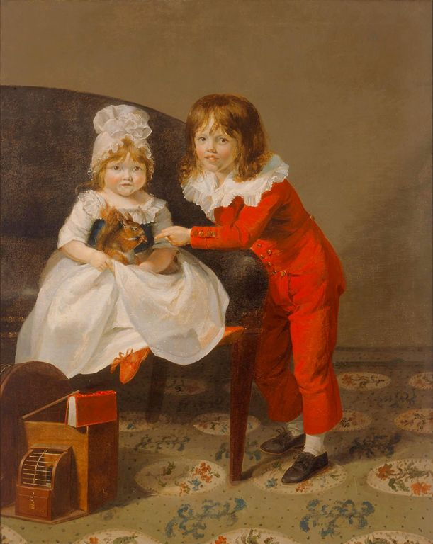 Portrait of Two Children. No date.
