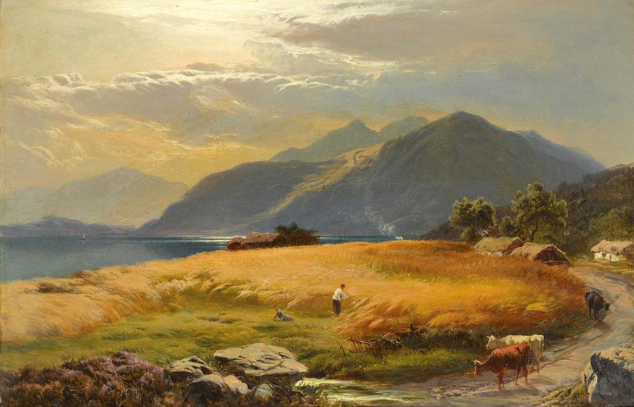 """The Highland Loch."" No date."