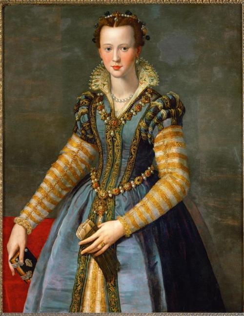 Portrait of Maria de' Medici. ca. 1555.