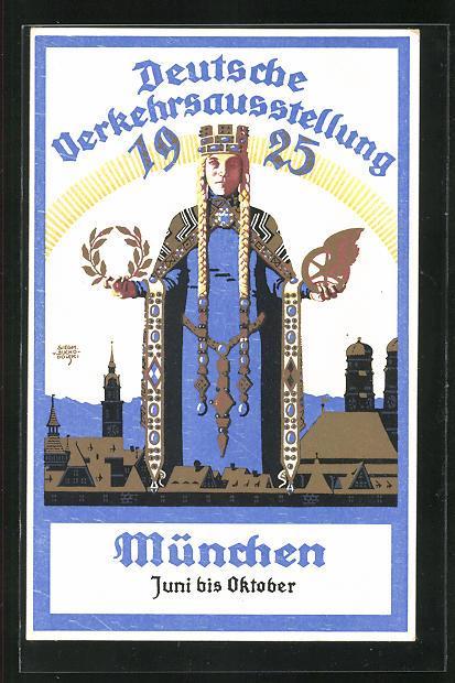 Postcard. 1925. Siegmund von Suchodolski, illustrator.