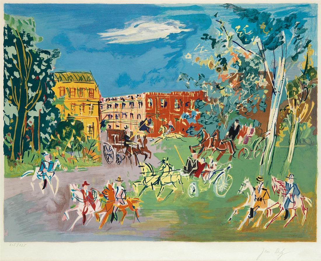 """""""Bois du Boulogne."""" ca. 1950."""