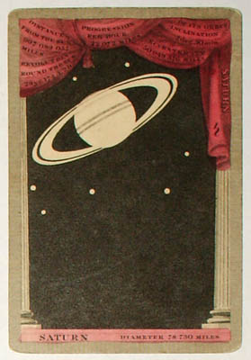 """""""Saturn."""" (Planetary card for summer)."""