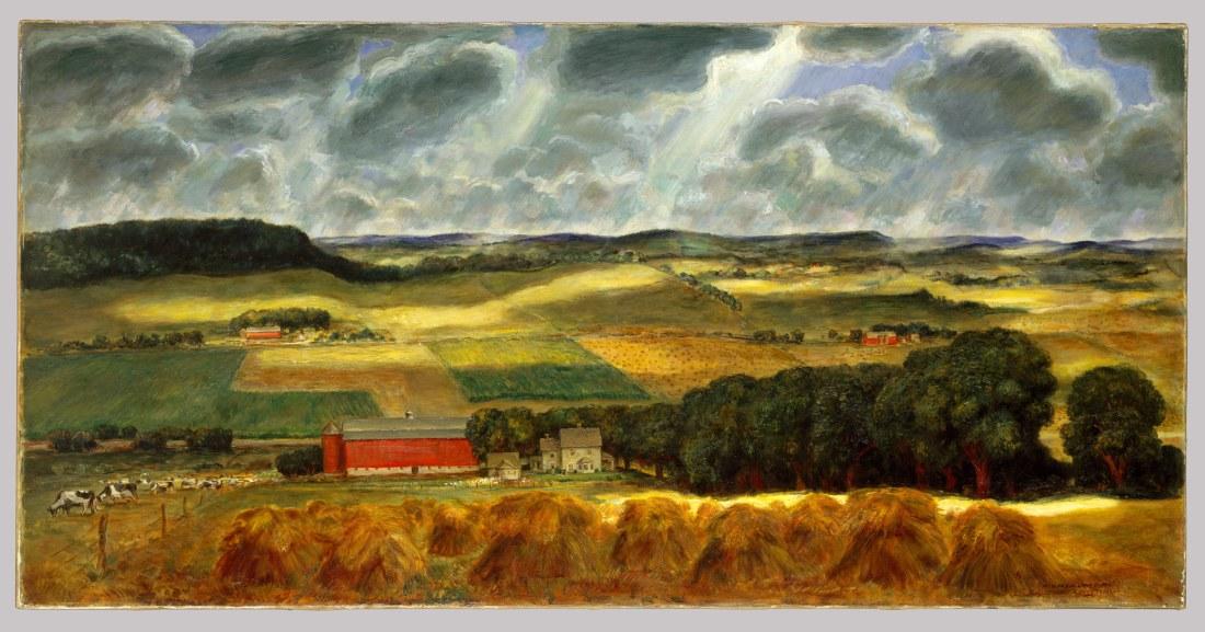 """""""Wisconsin Landscape."""" 1938-39."""
