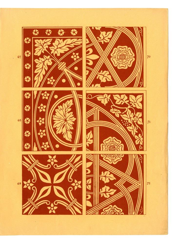 Page 25. Designs 67-72.