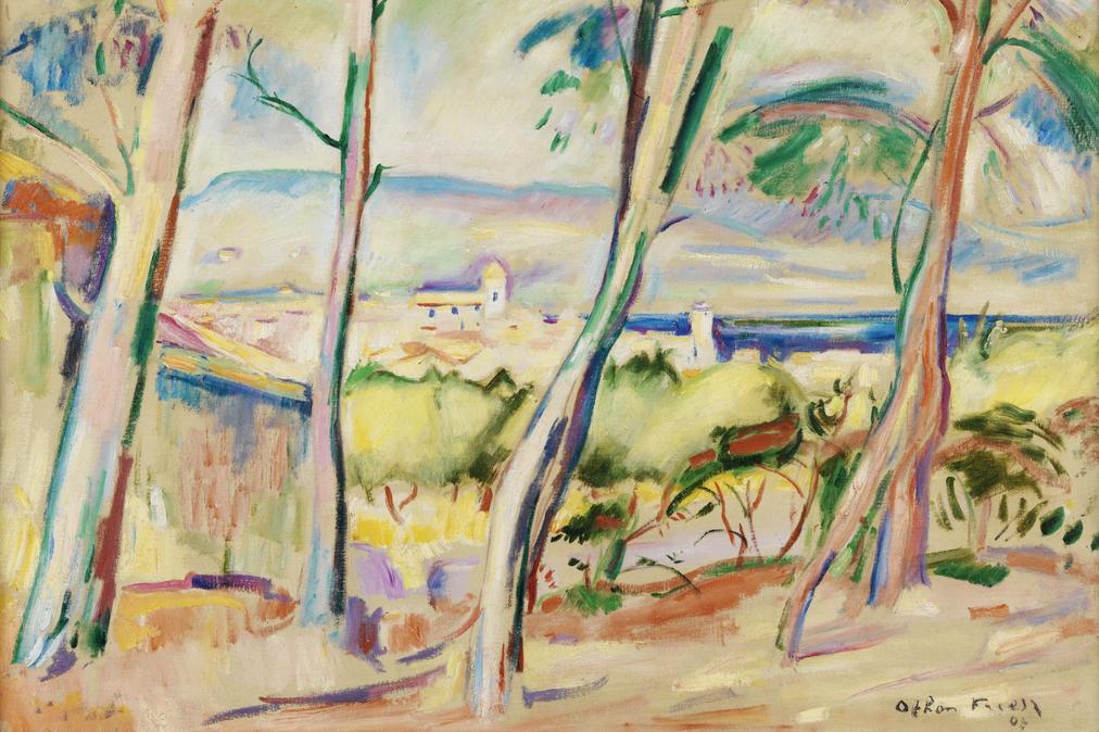 Othon_Friesz,_1907,_Paysage_à_La_Ciotat,_oil_on_canvas,_59.9_x_72.9_cm