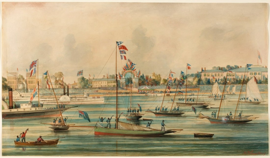 """""""Arrival of the Prince of Wales at Toronto, September 1860."""" 1860."""