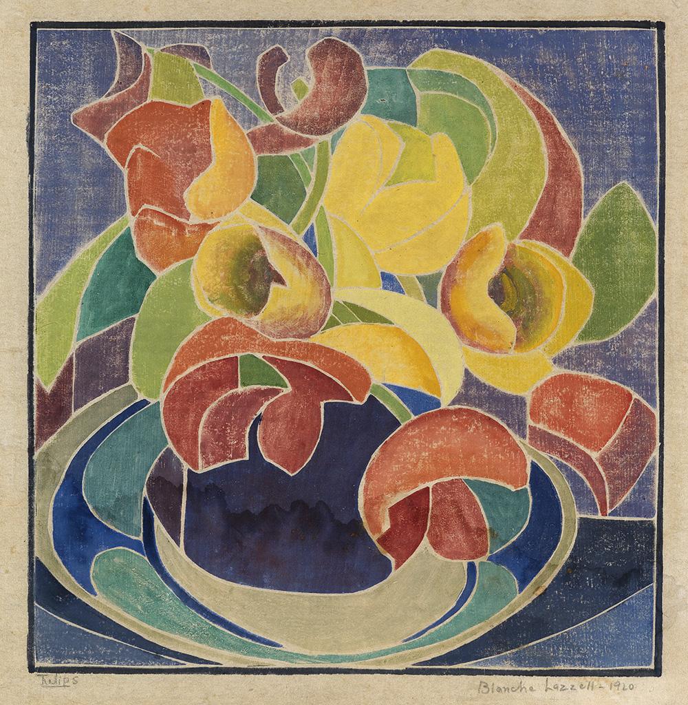 """Tulips."" 1920."