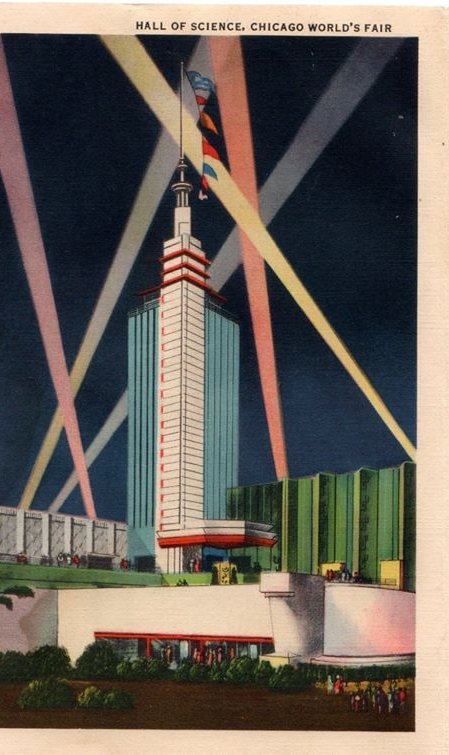 """""""Hall of Science, Chicago World's Fair."""""""