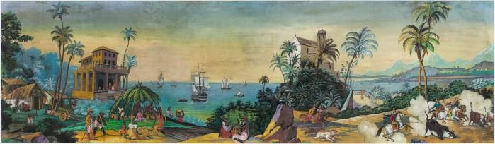 Brasil. 1800-1850. Gouache on paper. Artist not known.