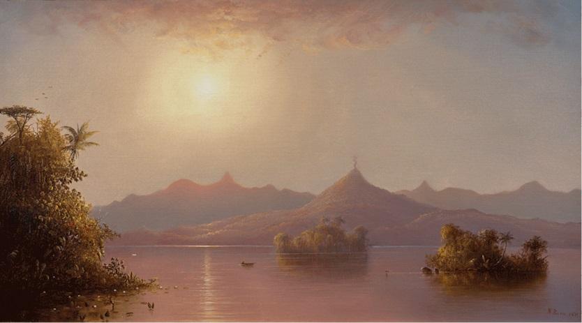 """""""On the San Juan, Nicaragua."""" 1871."""