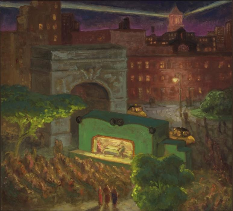 """""""W.P.A. Theater.""""ca. 1935."""