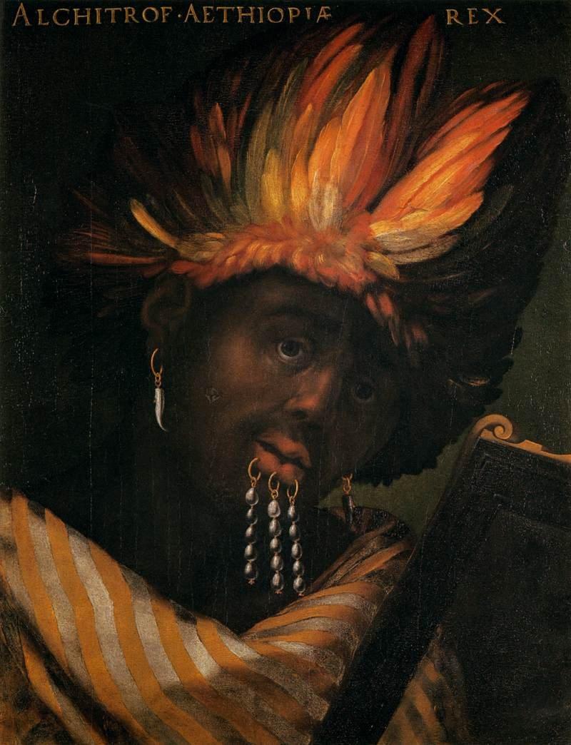 """""""Alchitrof, Emperor of Ethiopia."""""""