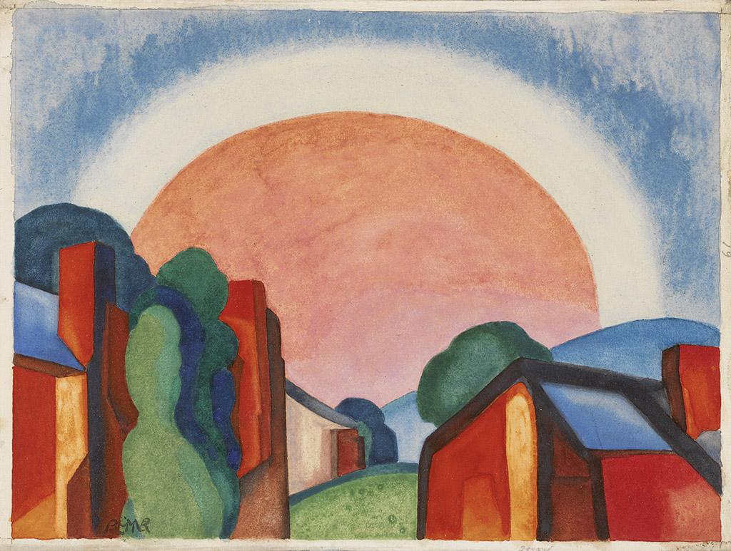 """Rosy Light."" 1927."