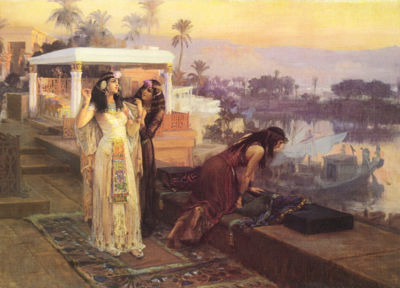 """Cleopatra on the Terraces of Philae."" 1896. Oil on canvas."