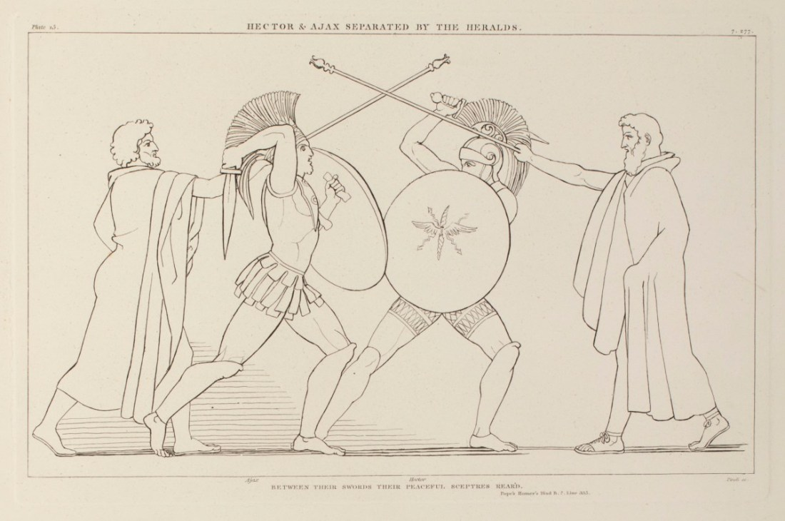 """""""Hector and Ajax Separated by the Heralds."""""""