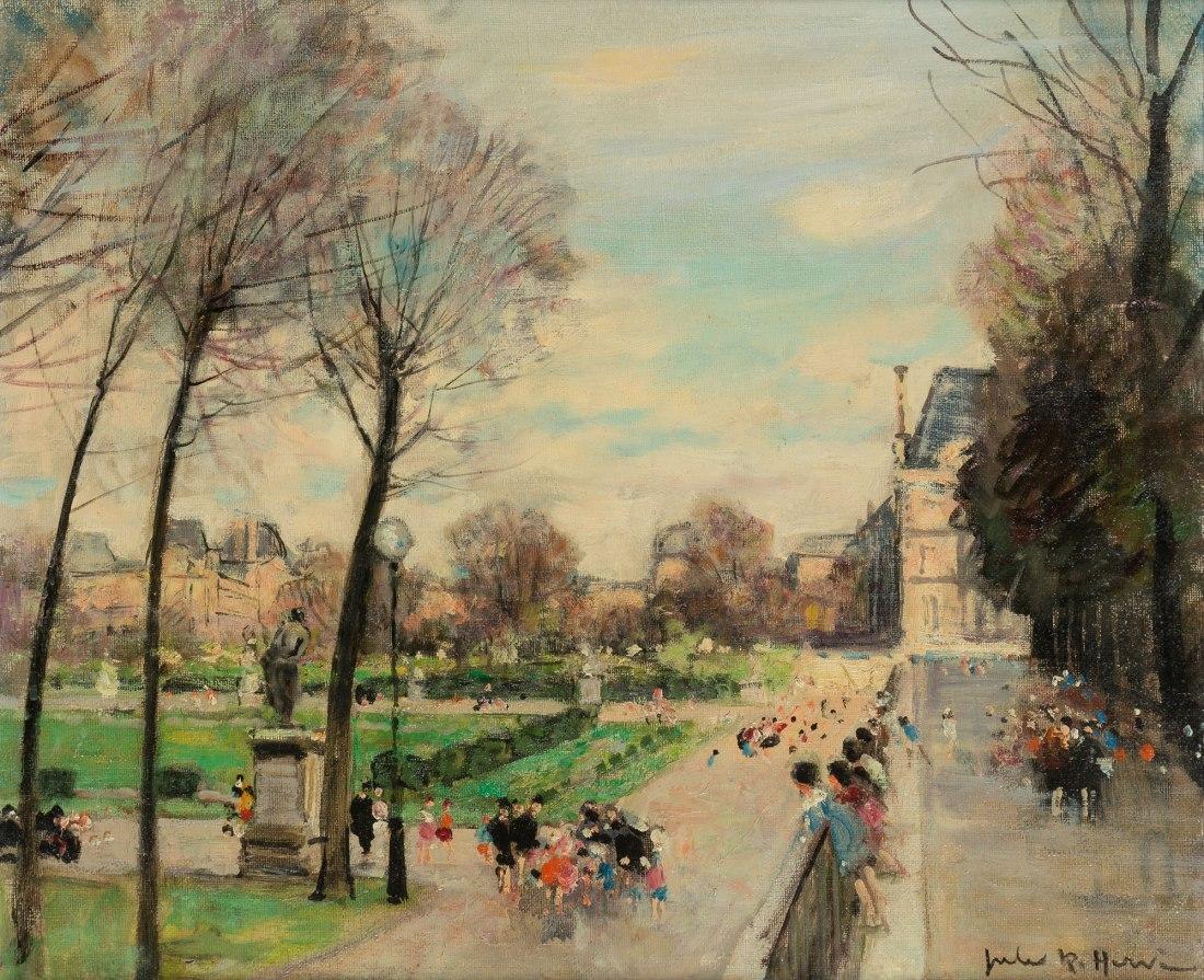"""""""The Tuileries, Paris."""" No date."""