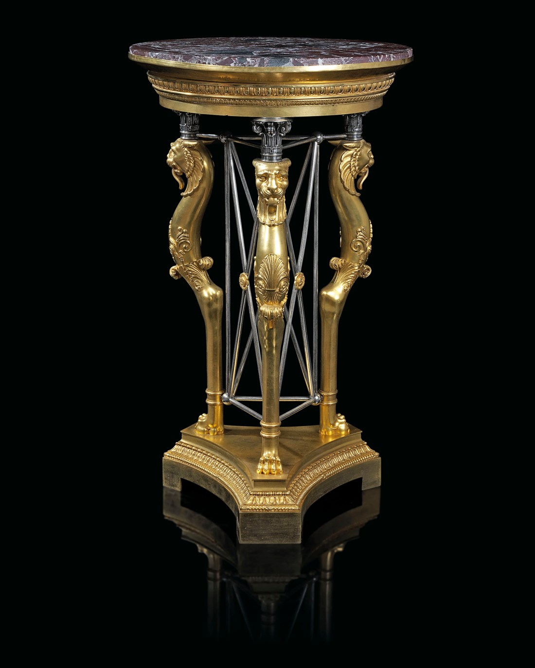 2018_CKS_15491_0562_002(a_french_gilt_and_silvered-bronze_gueridon_second_quarter_19th_century)
