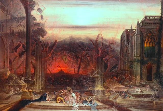 Colman Samuel, British- The Destruction of the Temple