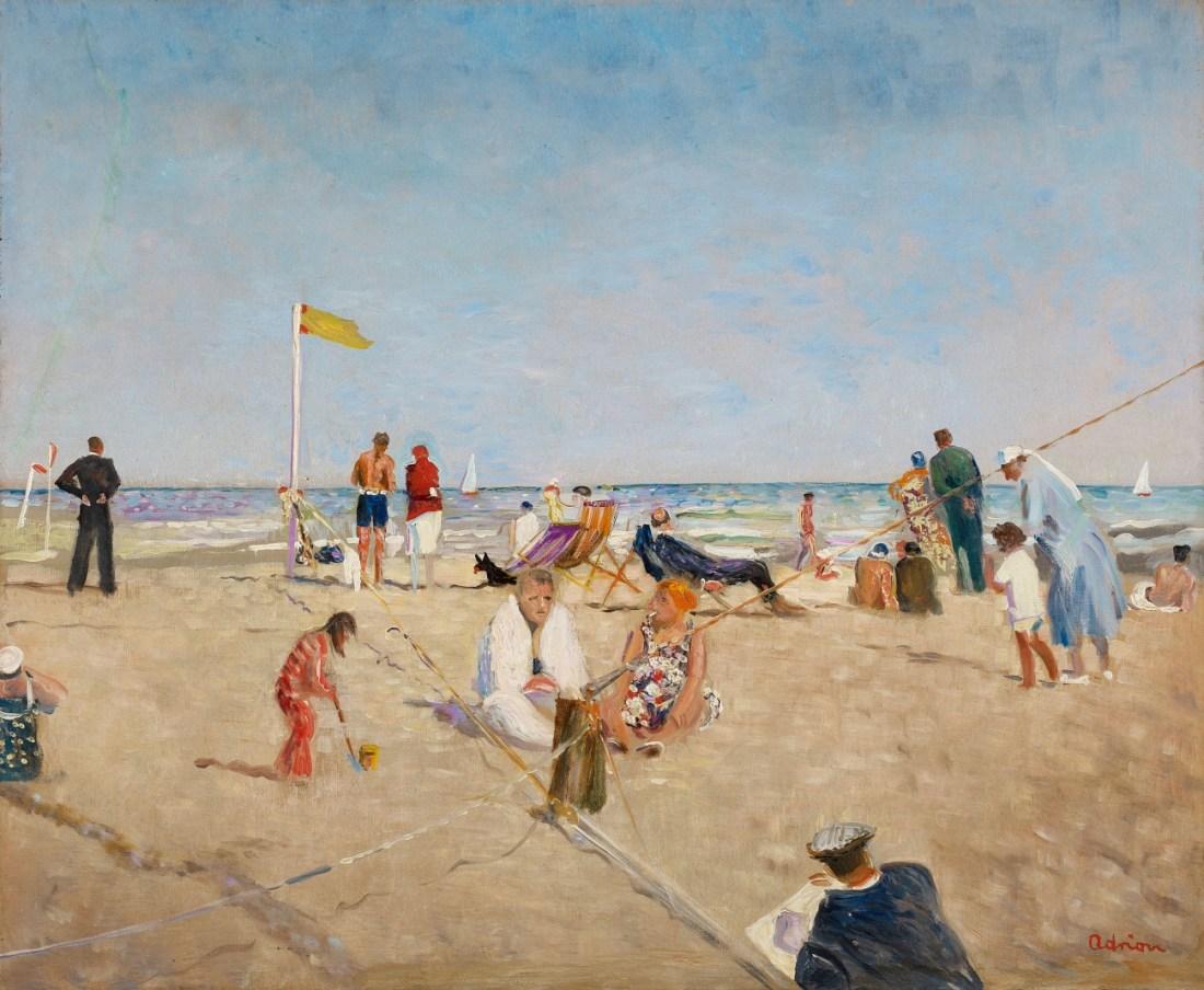 Lempertz-1143-274-Modern-Art-Lucien-Adrion-Deauville-La-Plage