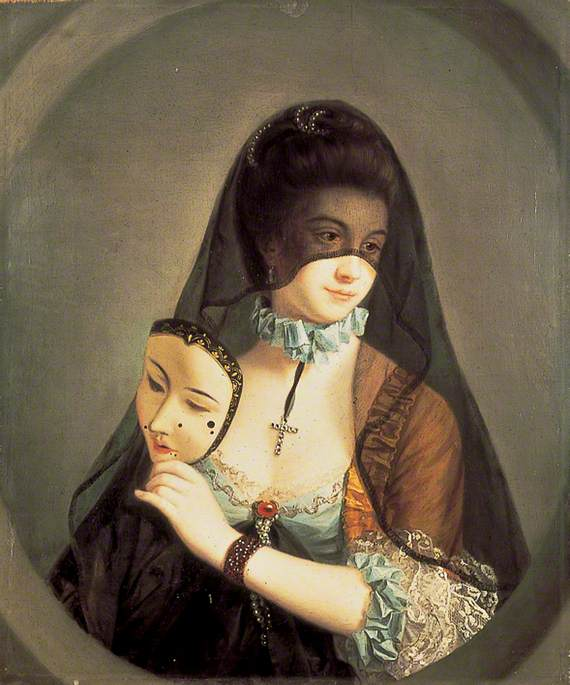 Morland, Henry Robert, c.1716-1797; The Fair Nun Unmasked