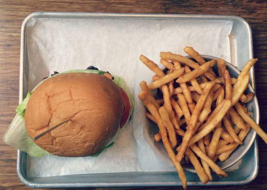Burger at Tilt in Portland