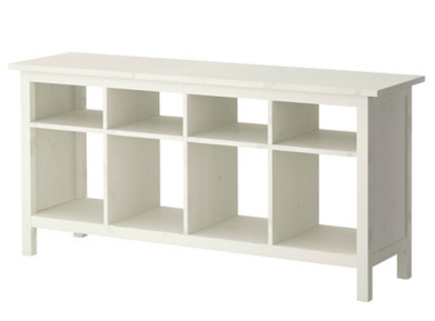 Ikea Hemnes Sofa Table in white