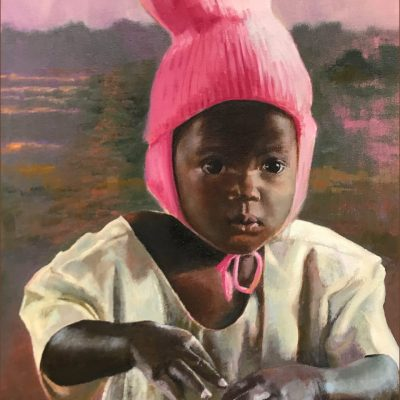 Little Ugandan girl