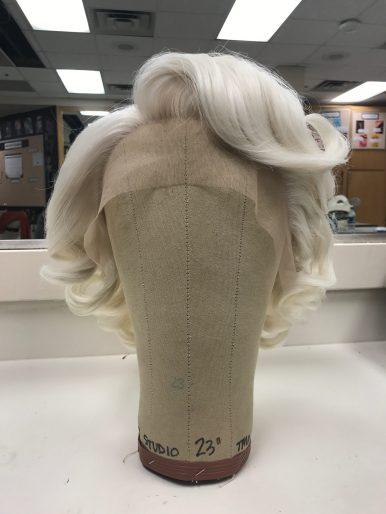 Marilyn Monroe Wig Recreation