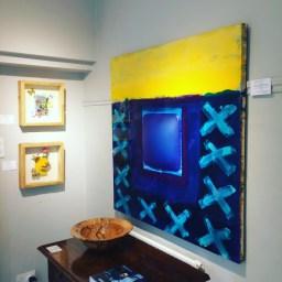 Zheni Warner at Thompson's Gallery