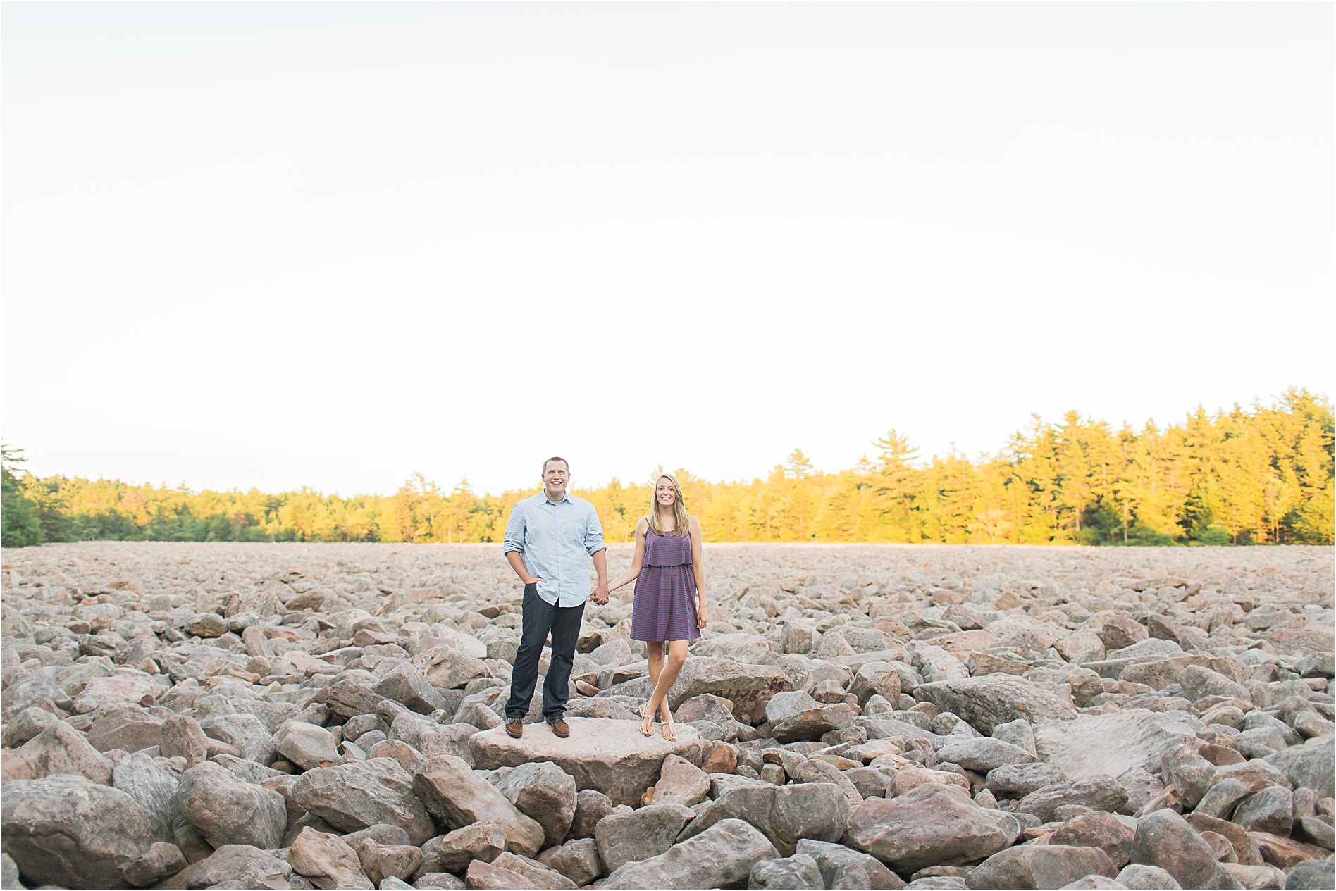 Hickory Run State Park Engagement Session Sarah Canning