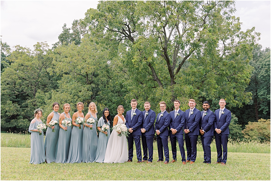 John James Audubon Center Wedding party