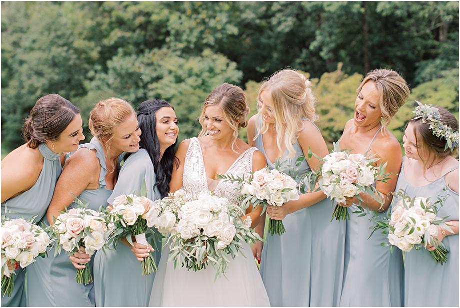 Show me your mumu bridesmaid dresses | John James Audubon Center Wedding