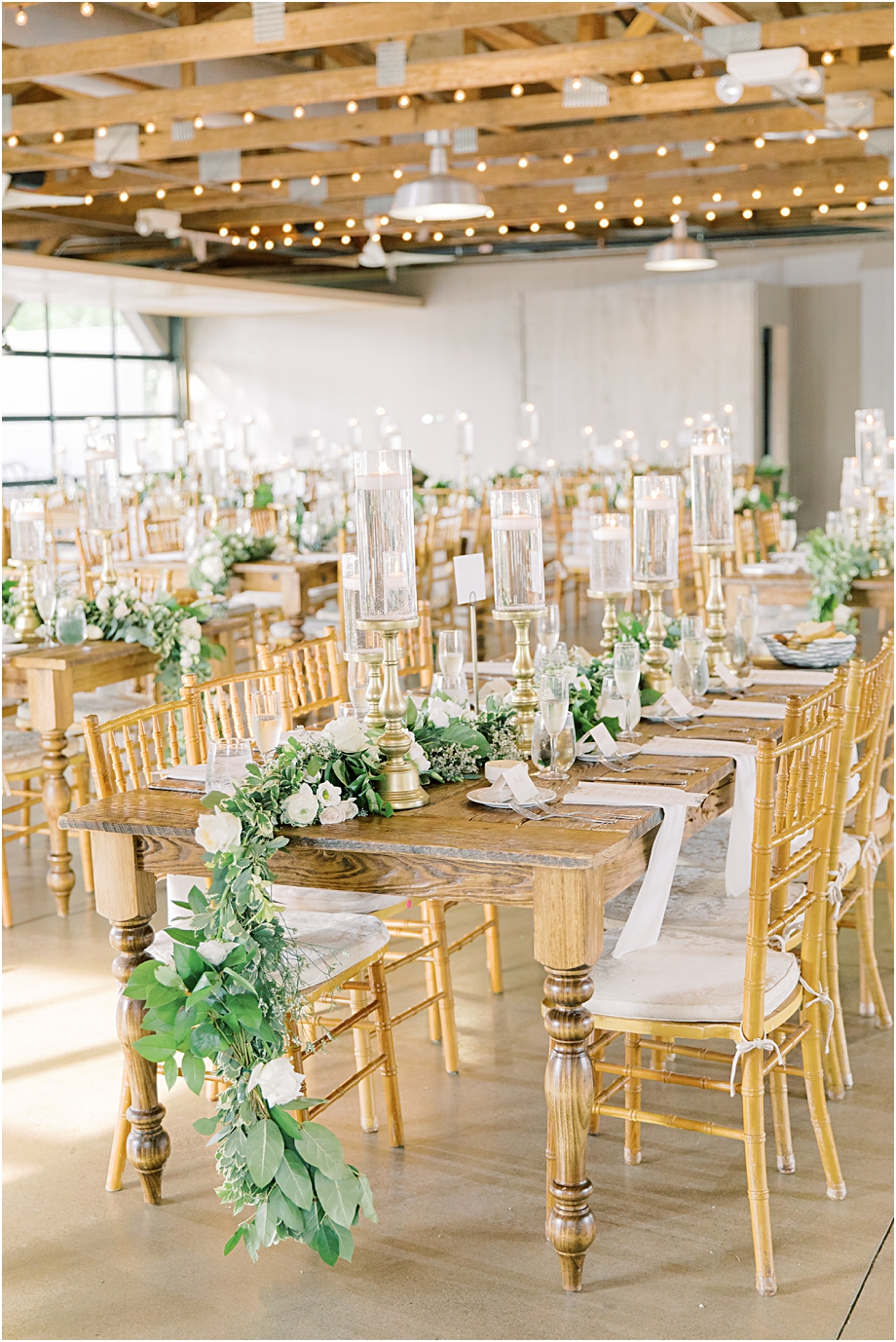 rustic wedding reception | John James Audubon Center Wedding