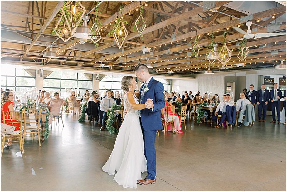 John James Audubon Center Wedding first dance