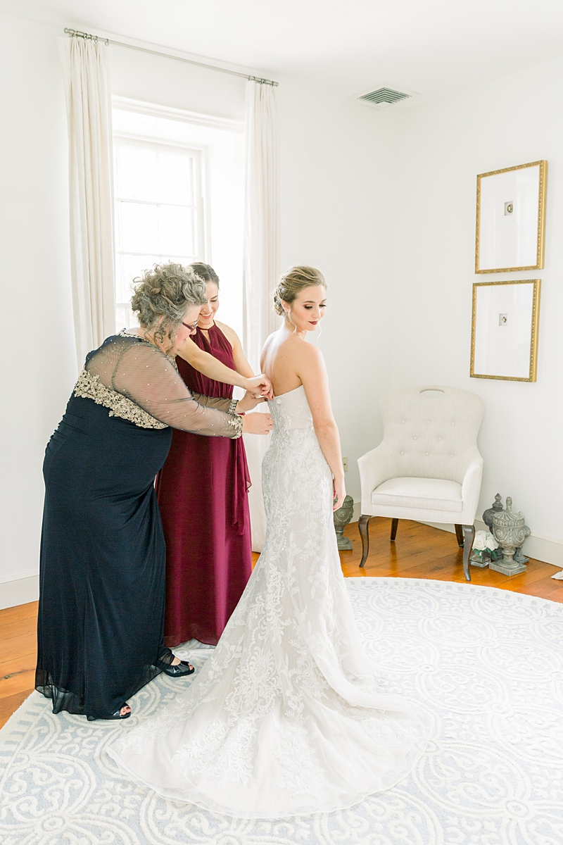 Bride getting ready | Lancaster wedding photographer