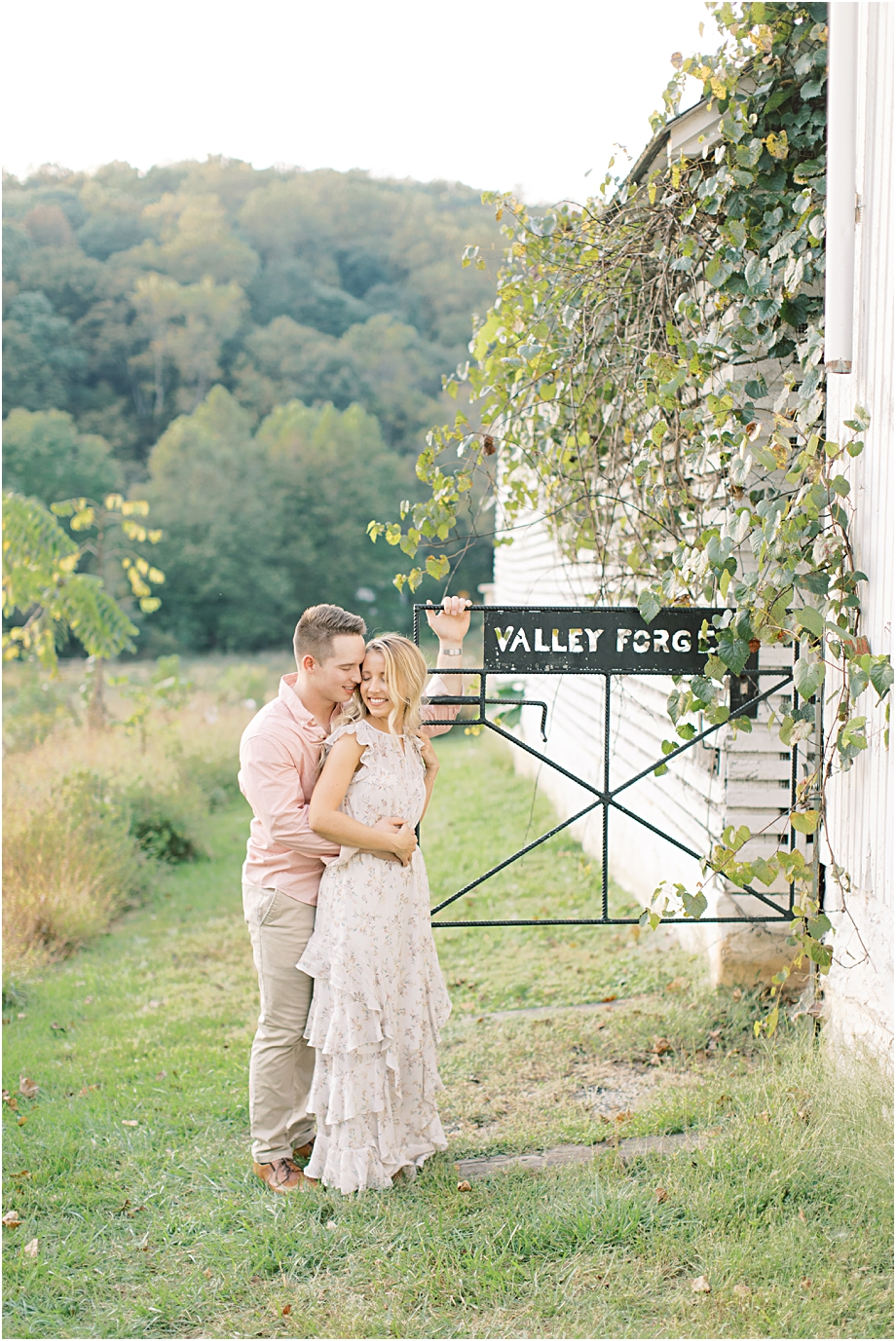 Couple at Golden Hour | Valley Forge Photographer Sarah Canning