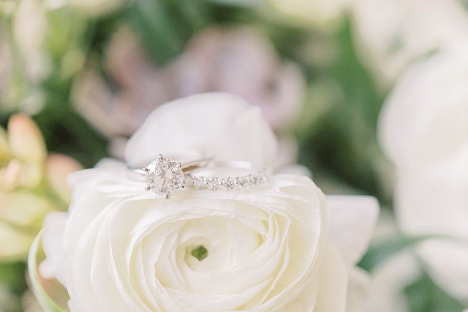 Ring Shot | New Jersey Wedding | Sarah Canning Photography
