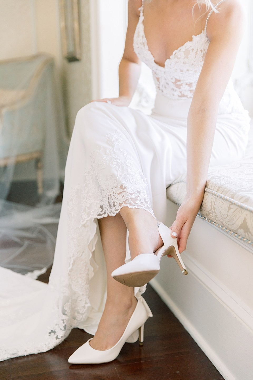 bride getting ready | ashford estate wedding photography | sarah canning photography