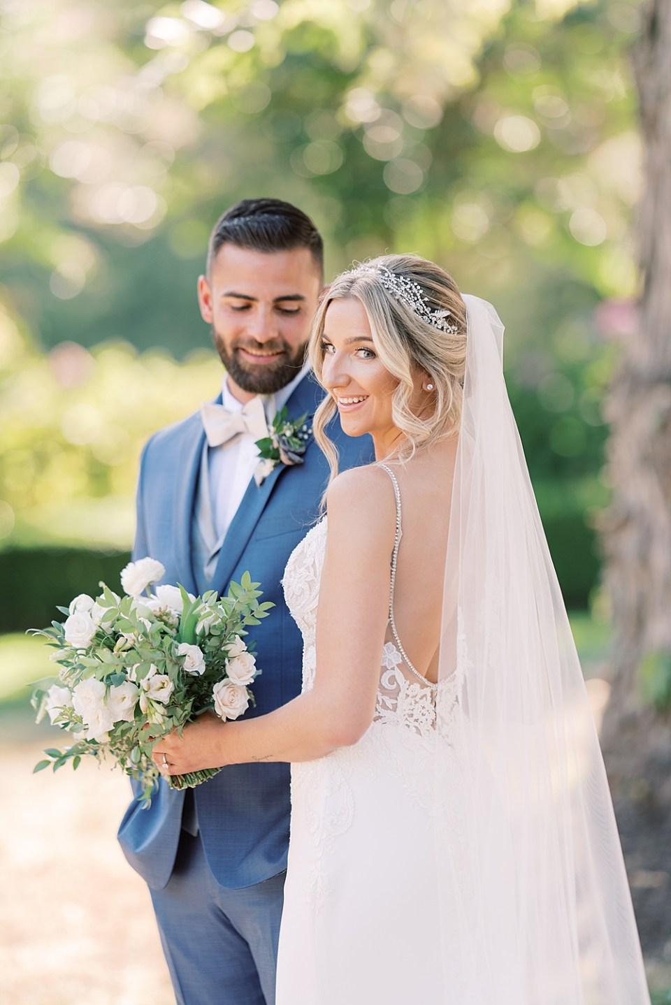 romantic wedding portraits | ashford estate wedding photography | sarah canning photography
