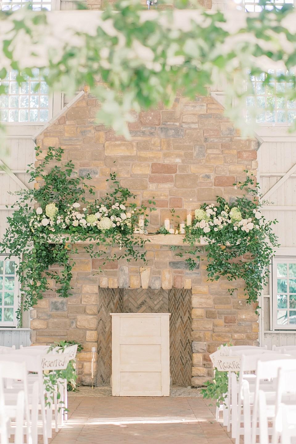 Ashford Estate wedding ceremony | whisper + brook flower co | new jersey wedding photographer sarah canning
