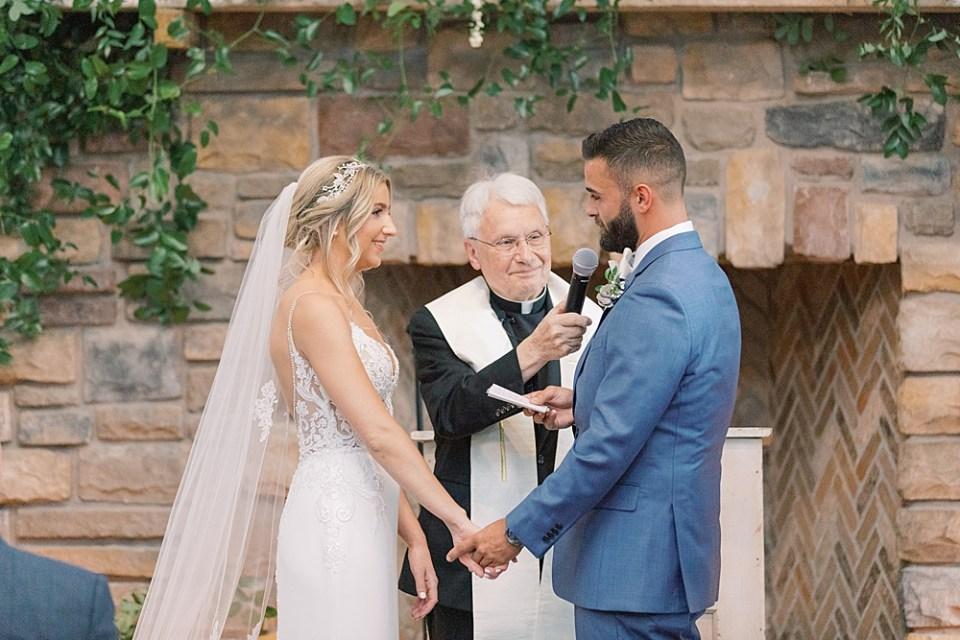 Ashford Estate wedding ceremony | new jersey wedding photographer sarah canning