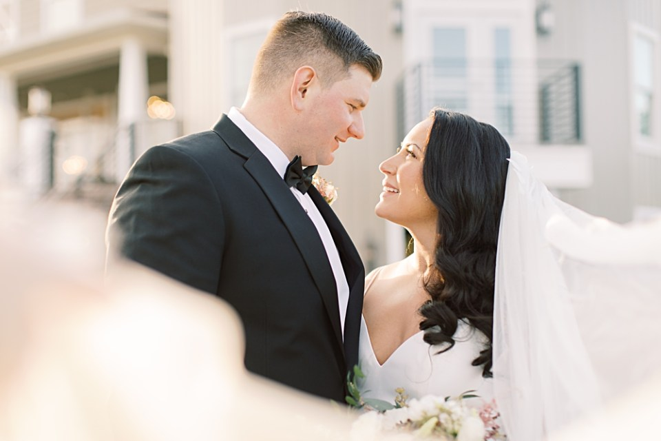 romantic wedding portraits | new jersey wedding venue | sarah canning photography