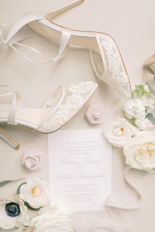 bella belle wedding shoes | bridal details | sarah canning photography