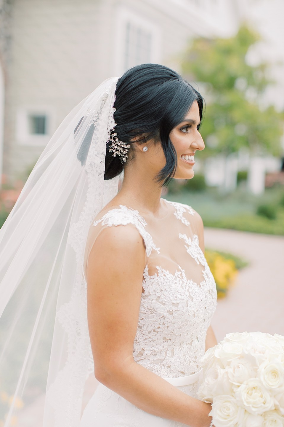 hair and makeup by alisha nycole & co | ryland inn wedding | sarah canning