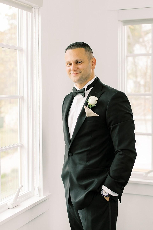 groom portraits | ryland inn wedding | sarah canning photography